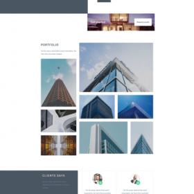 商务建筑公司模板