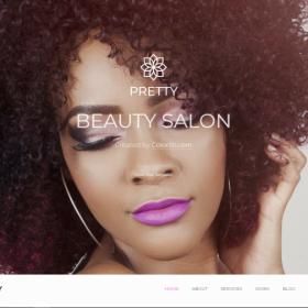 美容美妆服务模板