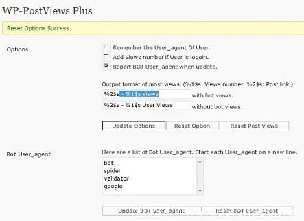 安装WP-PostViews Plus插件,显示文章的阅读次数