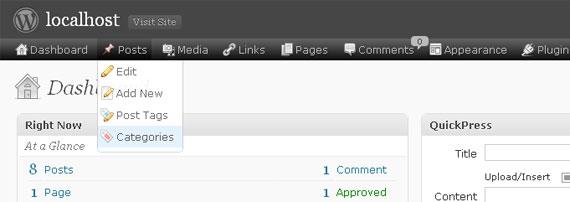 七款WordPress后台管理界面美化插件 2