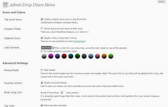 七款WordPress后台管理界面美化插件 3