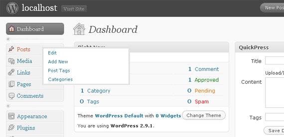 七款WordPress后台管理界面美化插件 9
