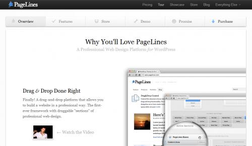 10款简约风格的免费WordPress Thems 1