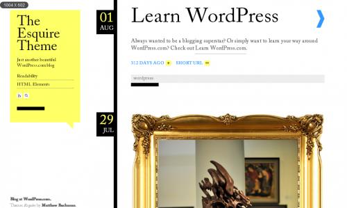 10款简约风格的免费WordPress Thems 5
