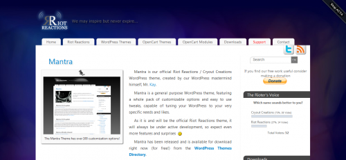 10款简约风格的免费WordPress Thems 8