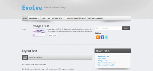 10款简约风格的免费WordPress Thems 9
