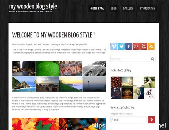 100款免费WordPress主题 47
