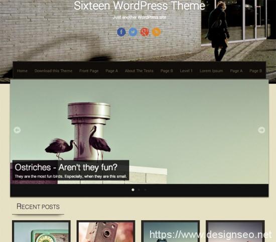 100款免费WordPress主题 52
