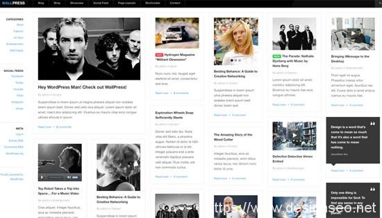 100款免费WordPress主题 62