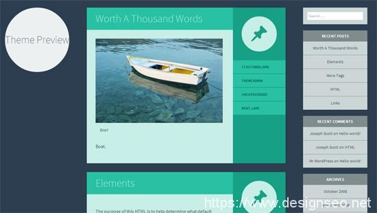 100款免费WordPress主题 64