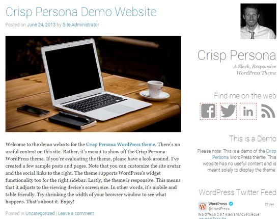 100款免费WordPress主题 66