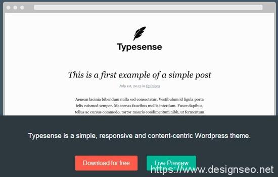 18 款免费 WordPress主题 5