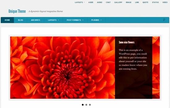 18 款免费 WordPress主题 11