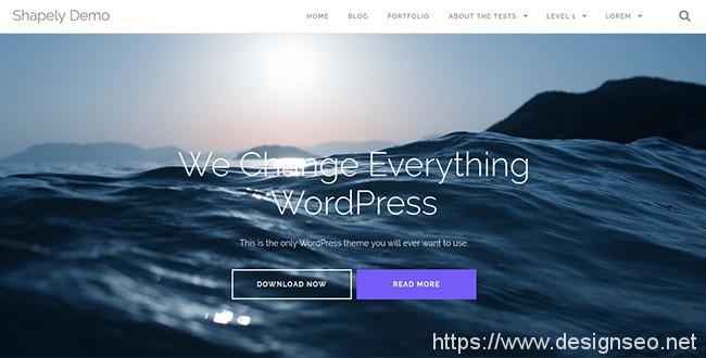 十款免费的WordPress主题 1